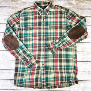 Polo by Ralph Lauren Large Plaid Long Sleeve Shirt